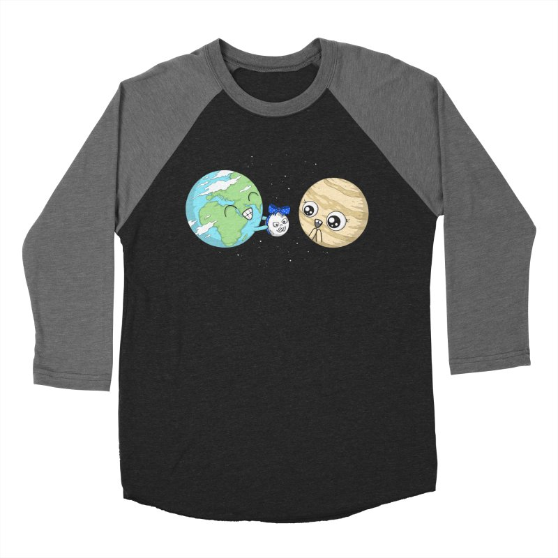 I'd Give You The Moon Men's Longsleeve T-Shirt by spookylili