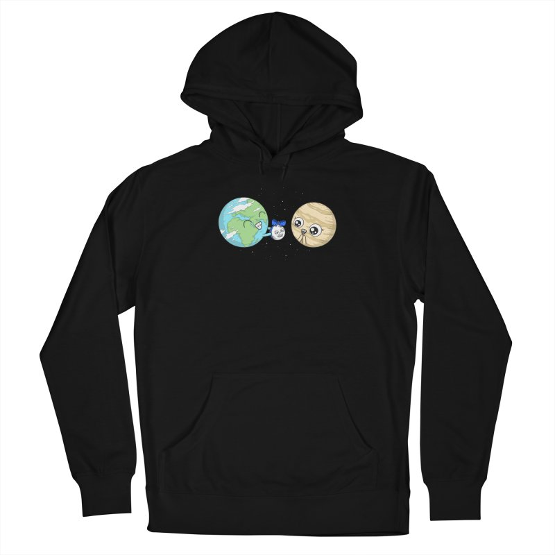 I'd Give You The Moon Women's French Terry Pullover Hoody by spookylili
