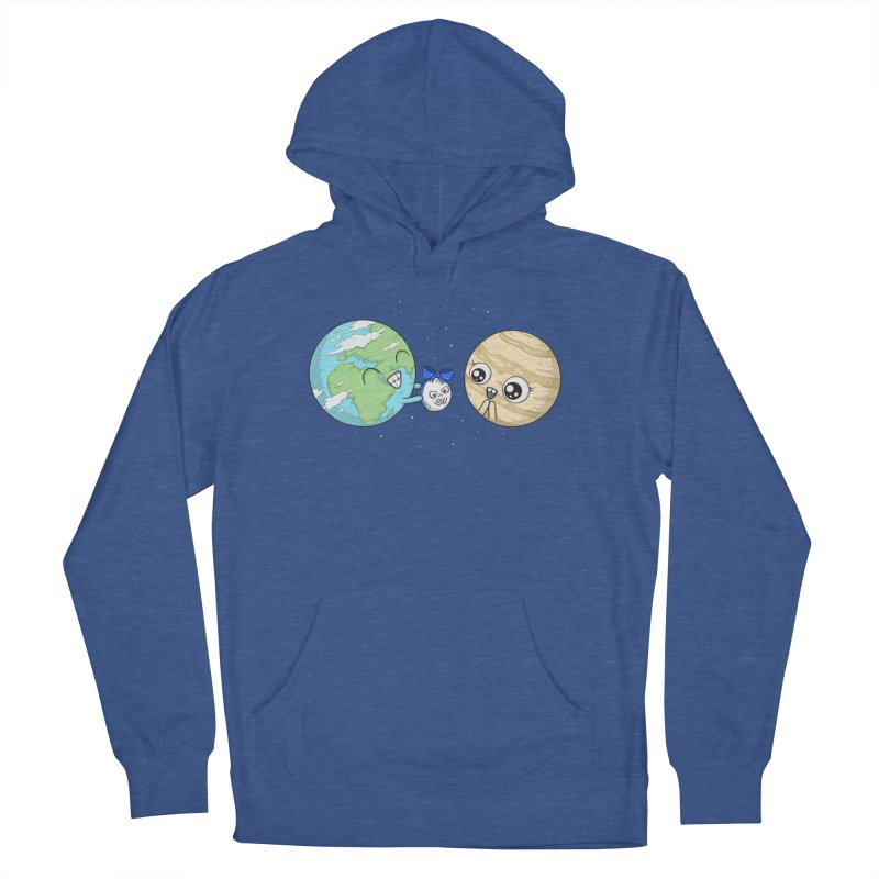 I'd Give You The Moon Men's French Terry Pullover Hoody by spookylili