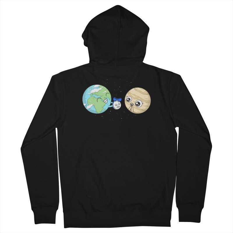 I'd Give You The Moon Men's French Terry Zip-Up Hoody by spookylili