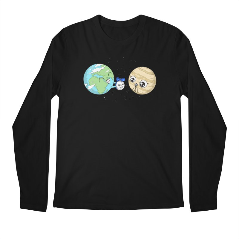 I'd Give You The Moon Men's Regular Longsleeve T-Shirt by spookylili