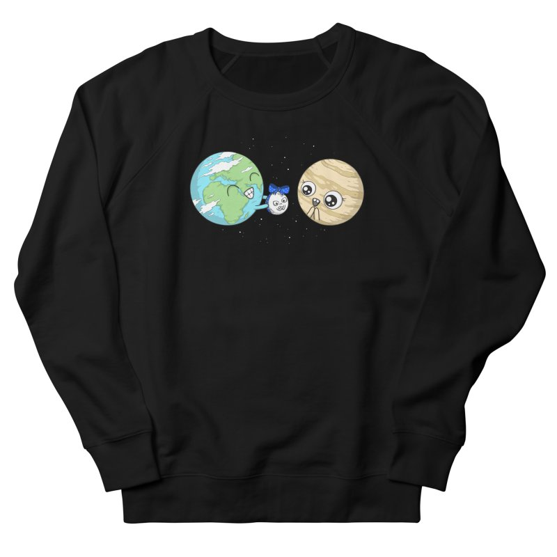 I'd Give You The Moon Women's French Terry Sweatshirt by spookylili