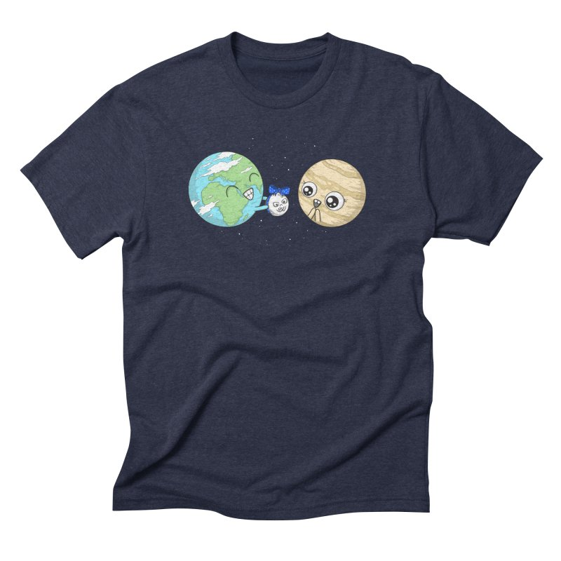 I'd Give You The Moon Men's Triblend T-Shirt by spookylili