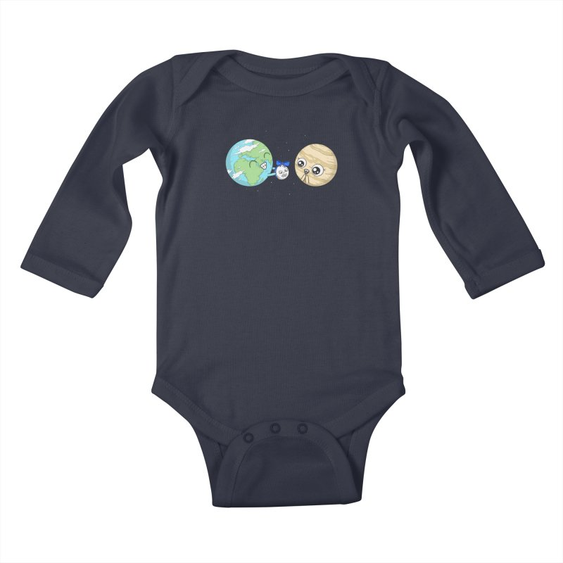 I'd Give You The Moon Kids Baby Longsleeve Bodysuit by spookylili
