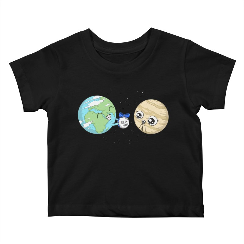 I'd Give You The Moon Kids Baby T-Shirt by spookylili