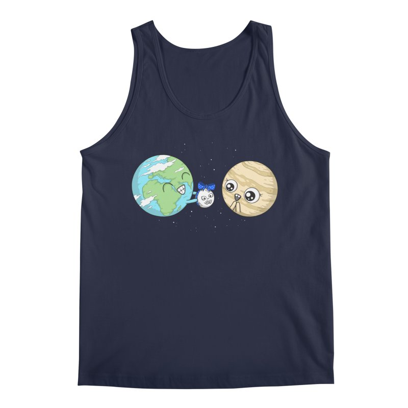I'd Give You The Moon Men's Regular Tank by spookylili