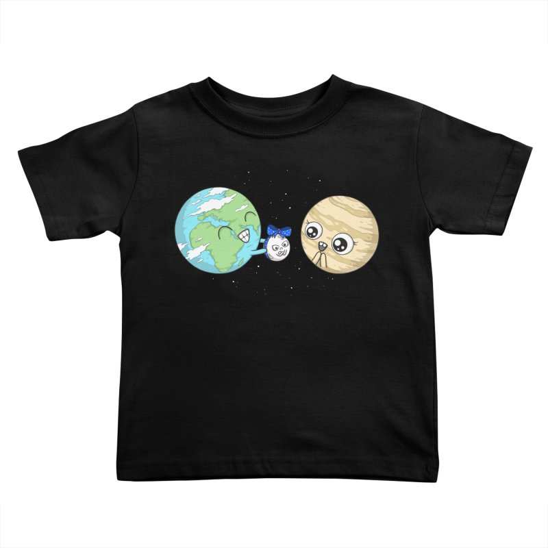I'd Give You The Moon Kids Toddler T-Shirt by spookylili