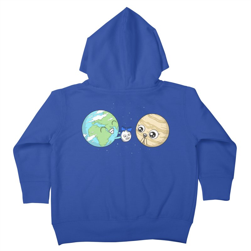 I'd Give You The Moon Kids Toddler Zip-Up Hoody by spookylili