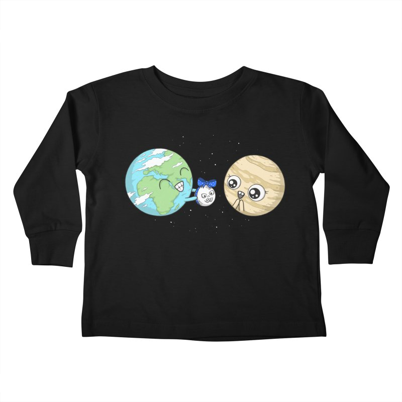 I'd Give You The Moon Kids Toddler Longsleeve T-Shirt by spookylili