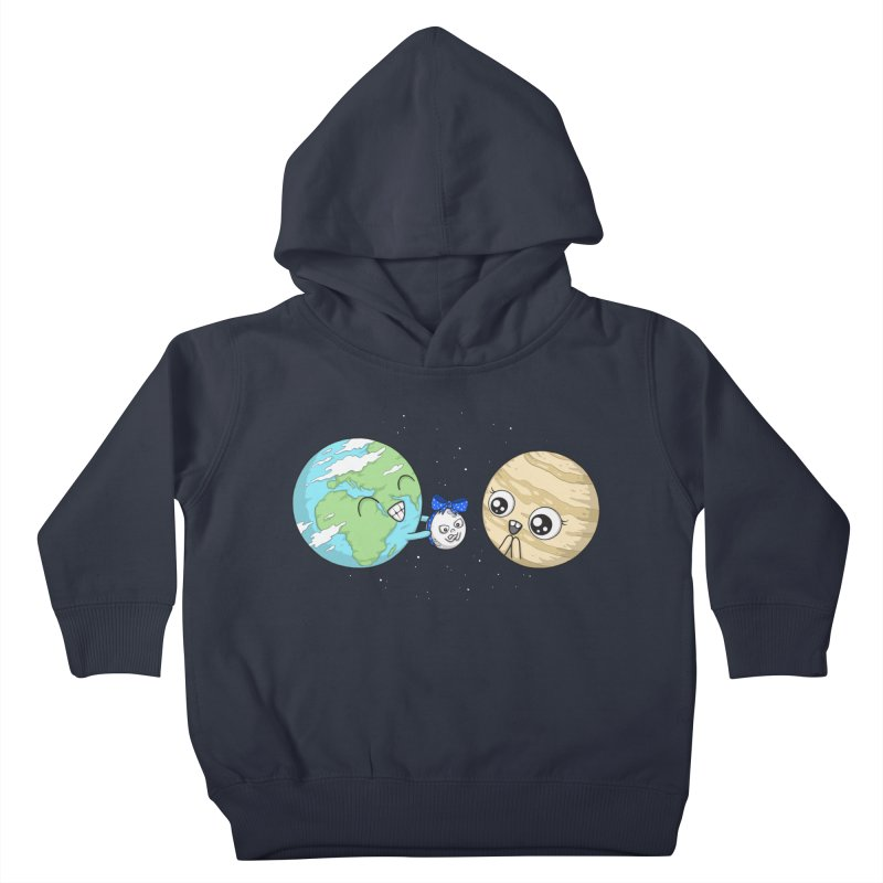 I'd Give You The Moon Kids Toddler Pullover Hoody by spookylili