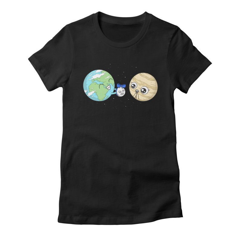 I'd Give You The Moon Women's T-Shirt by spookylili
