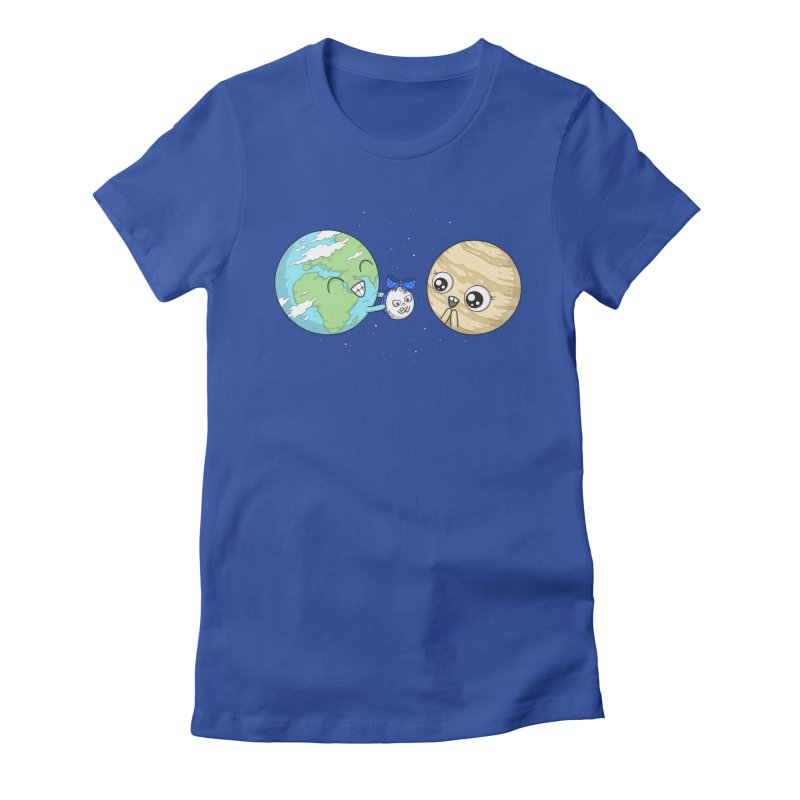 I'd Give You The Moon Women's Fitted T-Shirt by spookylili