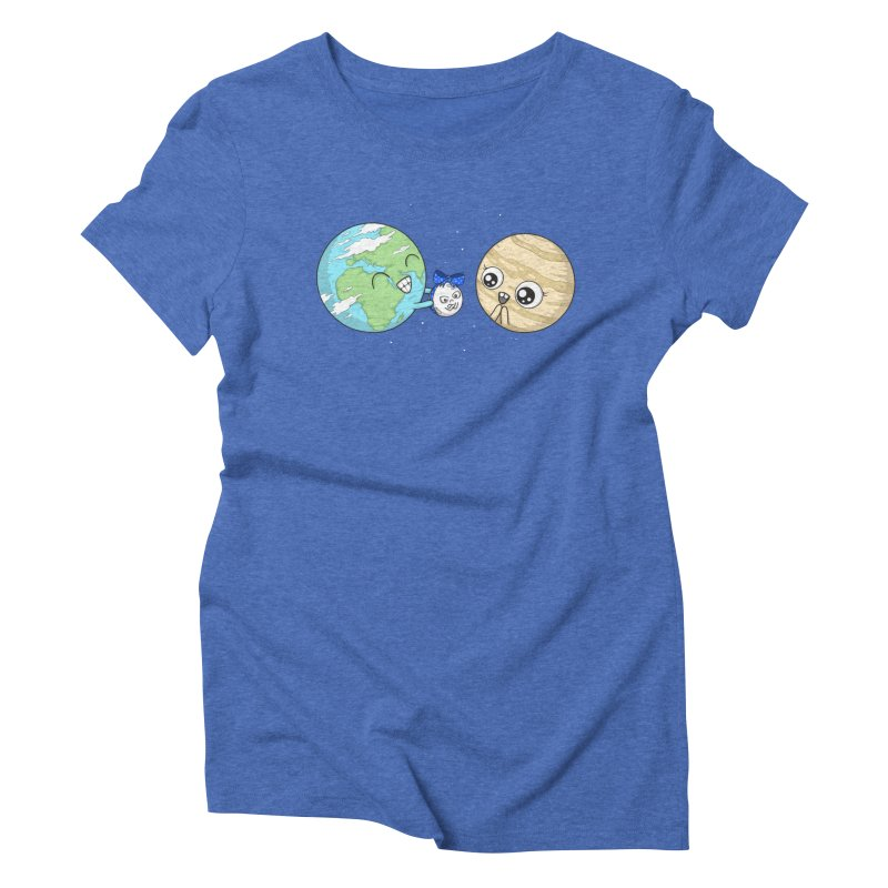 I'd Give You The Moon Women's Triblend T-Shirt by spookylili