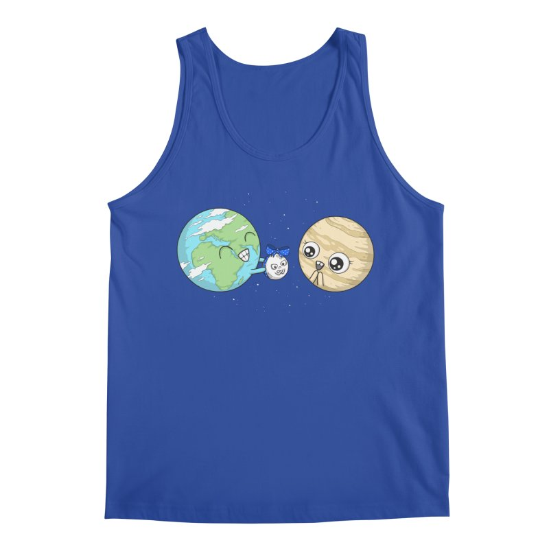 I'd Give You The Moon Men's Tank by spookylili