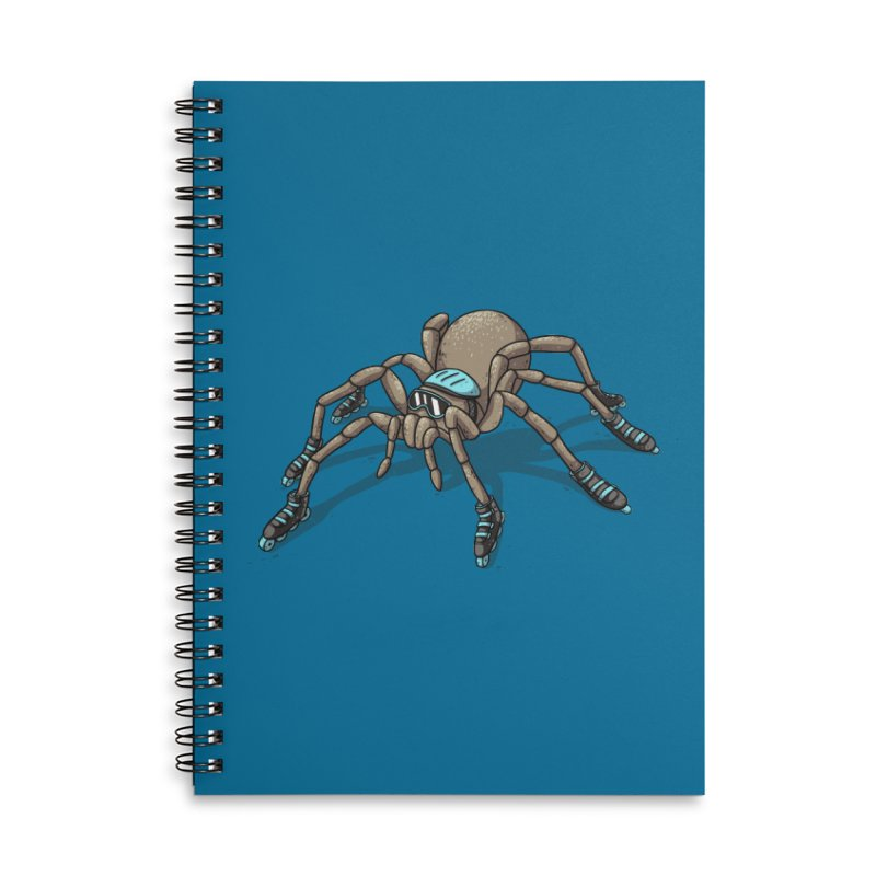 Rollin' Accessories Lined Spiral Notebook by spookylili