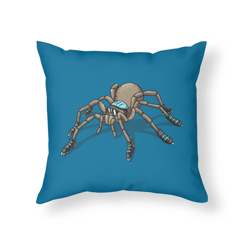 Rollin' Home Throw Pillow by spookylili