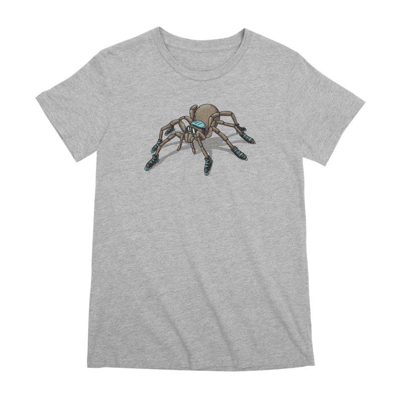 Rollin' Women's Premium T-Shirt by spookylili