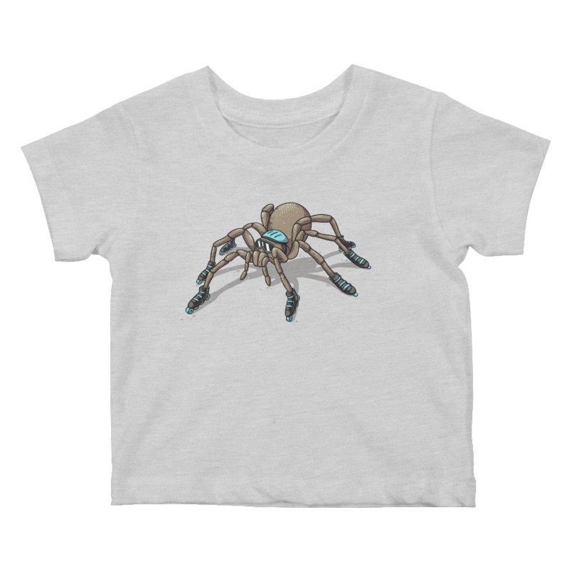 Rollin' Kids Baby T-Shirt by spookylili