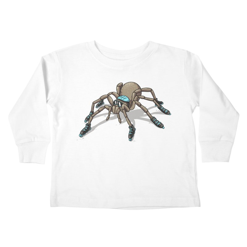 Rollin' Kids Toddler Longsleeve T-Shirt by spookylili