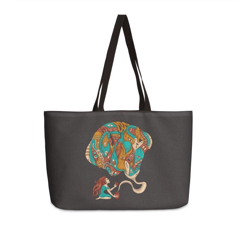 Pandora's Box Accessories Weekender Bag Bag by spookylili