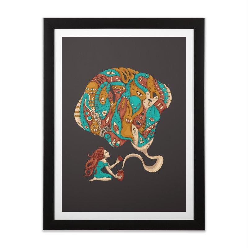 Pandora's Box Home Framed Fine Art Print by spookylili