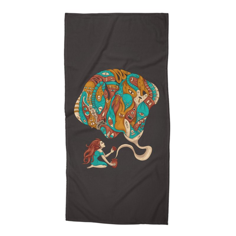 Pandora's Box Accessories Beach Towel by spookylili