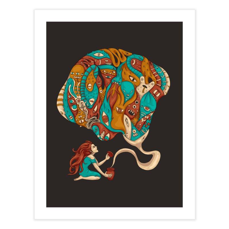 Pandora's Box Home Fine Art Print by spookylili