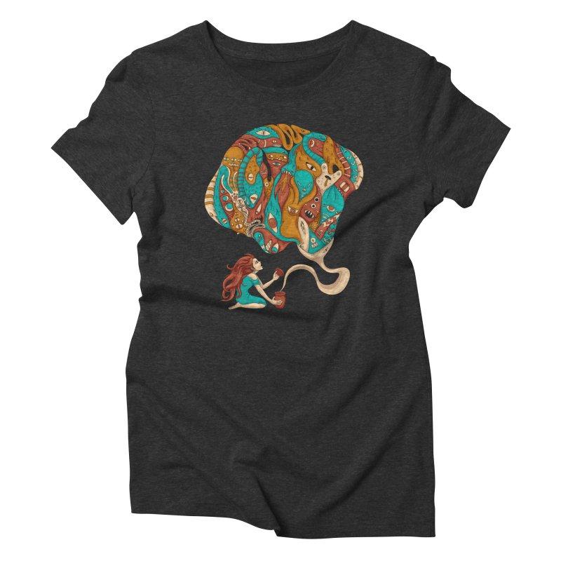 Pandora's Box Women's Triblend T-Shirt by spookylili