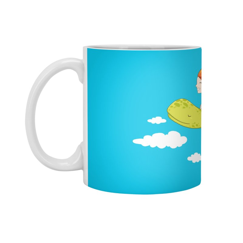 The Flying Turtle Accessories Mug by spookylili