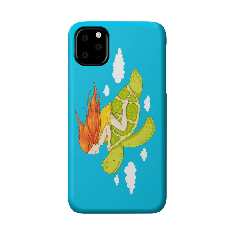 The Flying Turtle Accessories Phone Case by spookylili