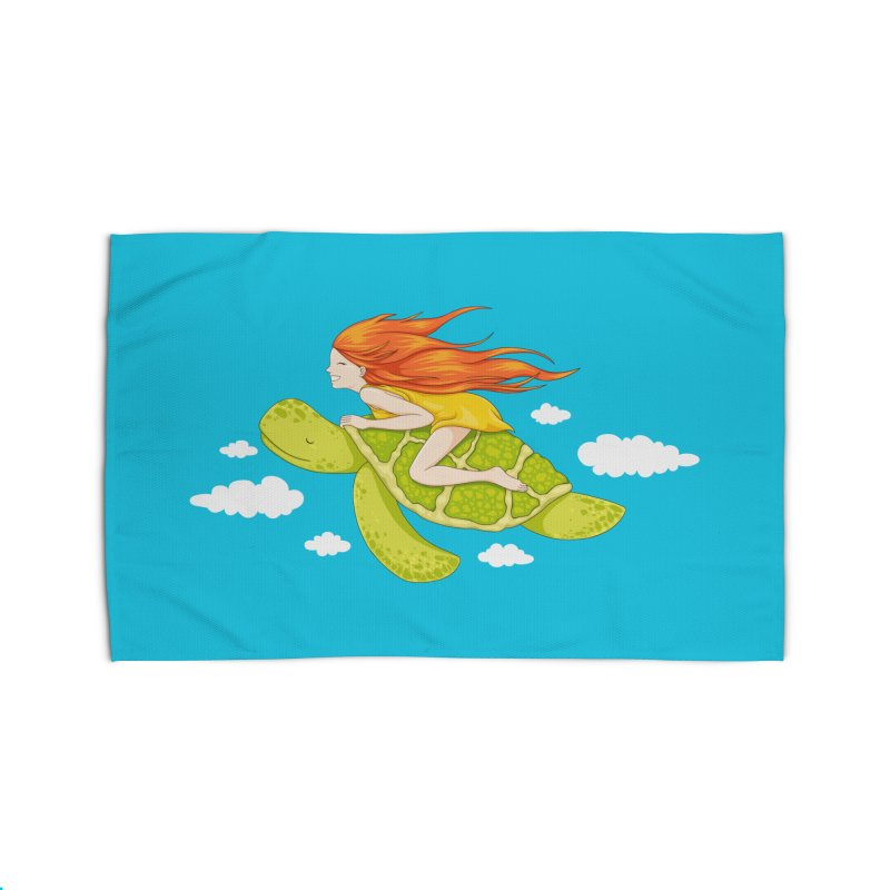 The Flying Turtle Home Rug by spookylili