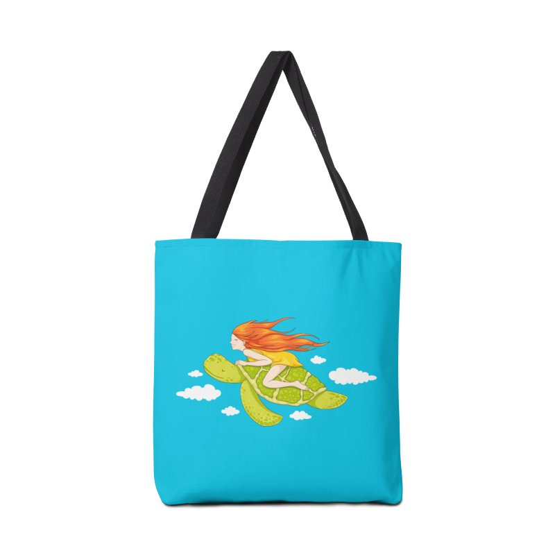 The Flying Turtle Accessories Tote Bag Bag by spookylili