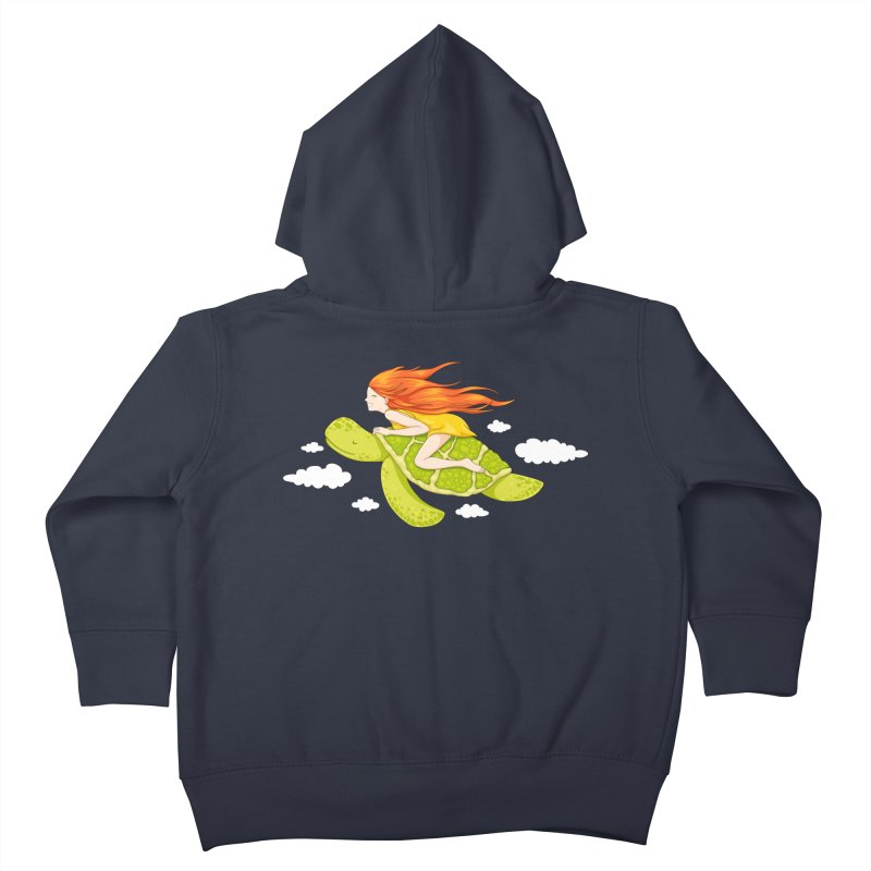 The Flying Turtle Kids Toddler Zip-Up Hoody by spookylili