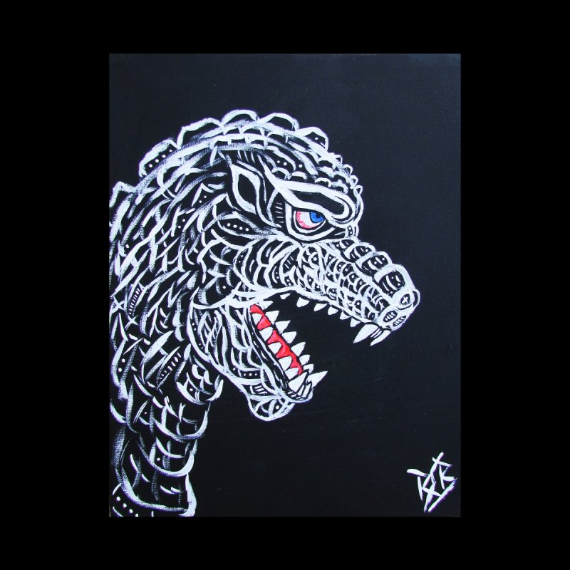Kaiju White by spookywolffe's Artist Shop