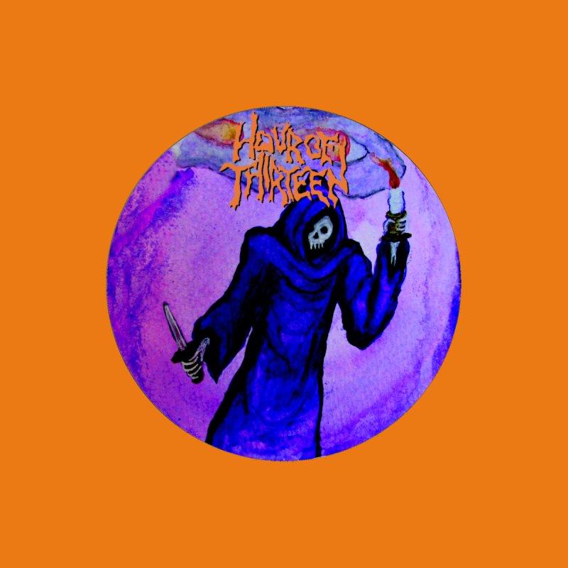 HOUR OF THIRTEEN - ALL HALLOW'S RETURN (purple logo) by spookywolffe's Artist Shop