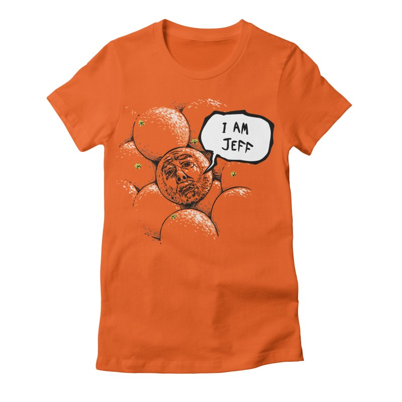 I am Jeff Women's Fitted T-Shirt by Sporecloud - Stuff by Jeff Bent