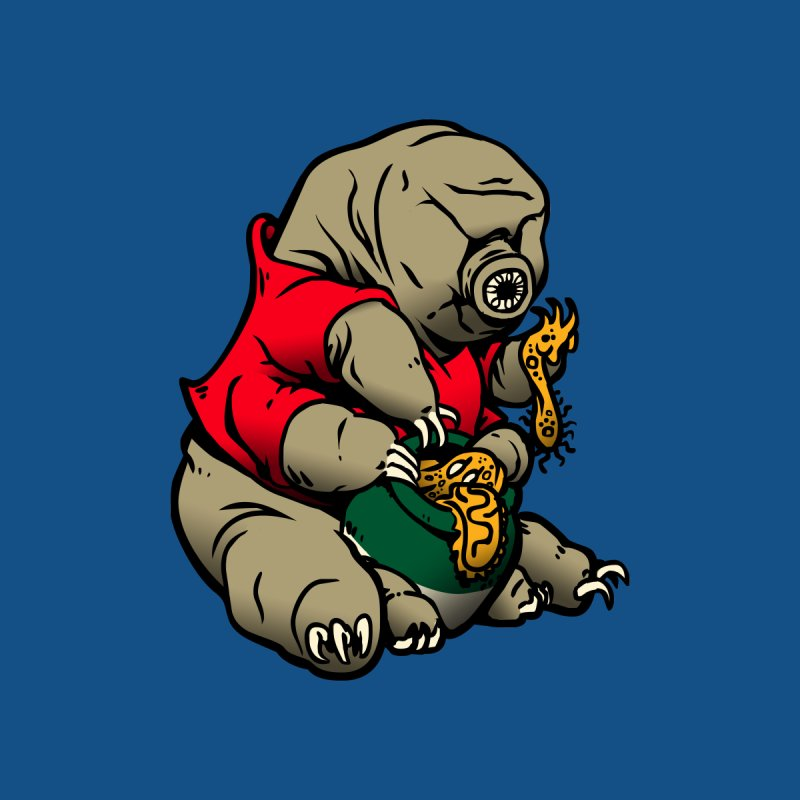 Water Pooh Bear Men's T-Shirt by Sporecloud - Stuff by Jeff Bent