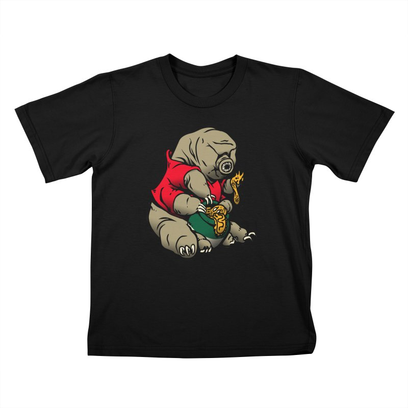 Water Pooh Bear Kids T-shirt by Sporecloud - Stuff by Jeff Bent