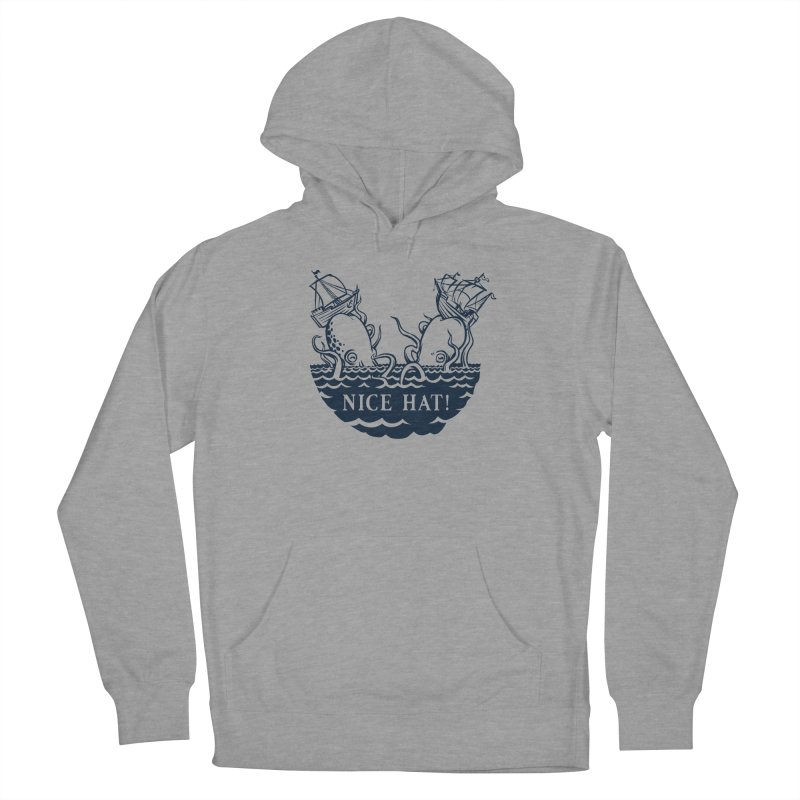 Nice Hat! Women's French Terry Pullover Hoody by Sporecloud - Stuff by Jeff Bent