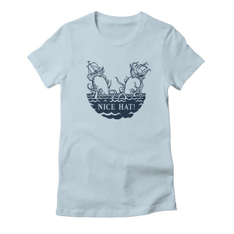 Nice Hat! Women's T-Shirt by Sporecloud - Stuff by Jeff Bent