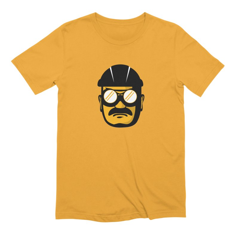 Steelers Wire Icon Men's Extra Soft T-Shirt by Sport'n Goods Artist Shop