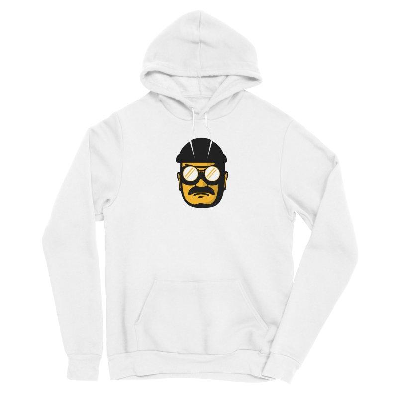 Steelers Wire Icon Men's Sponge Fleece Pullover Hoody by Sport'n Goods Artist Shop