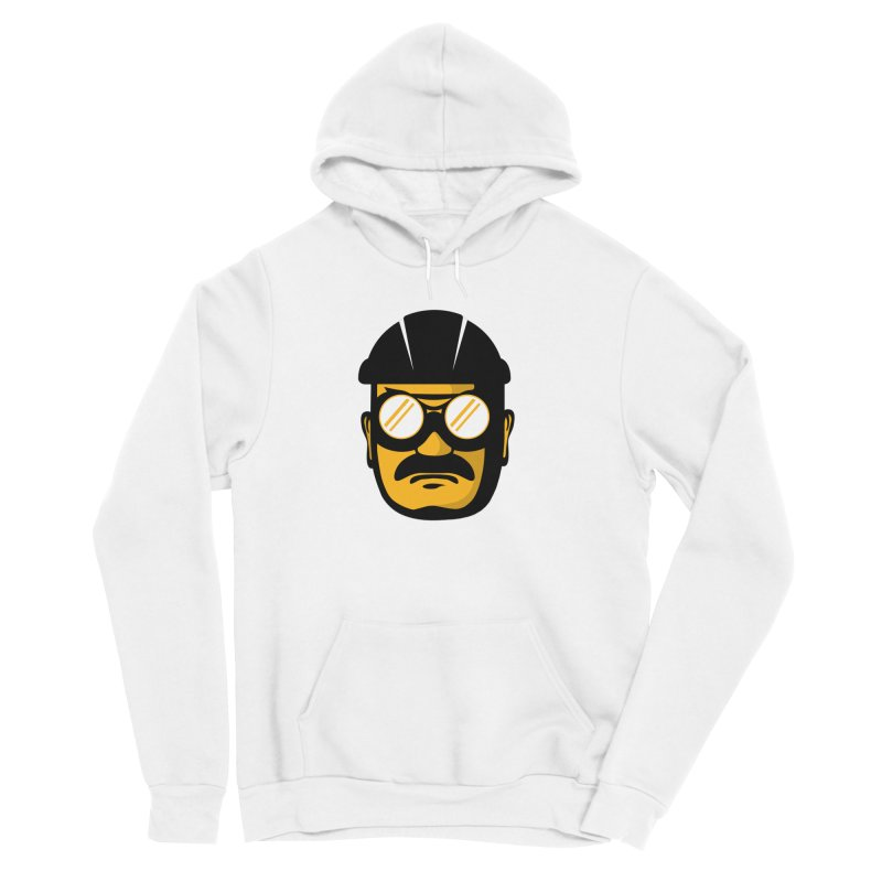 Steelers Wire Icon Men's Sponge Fleece Pullover Hoody by Sport'n Goods Artist Shop