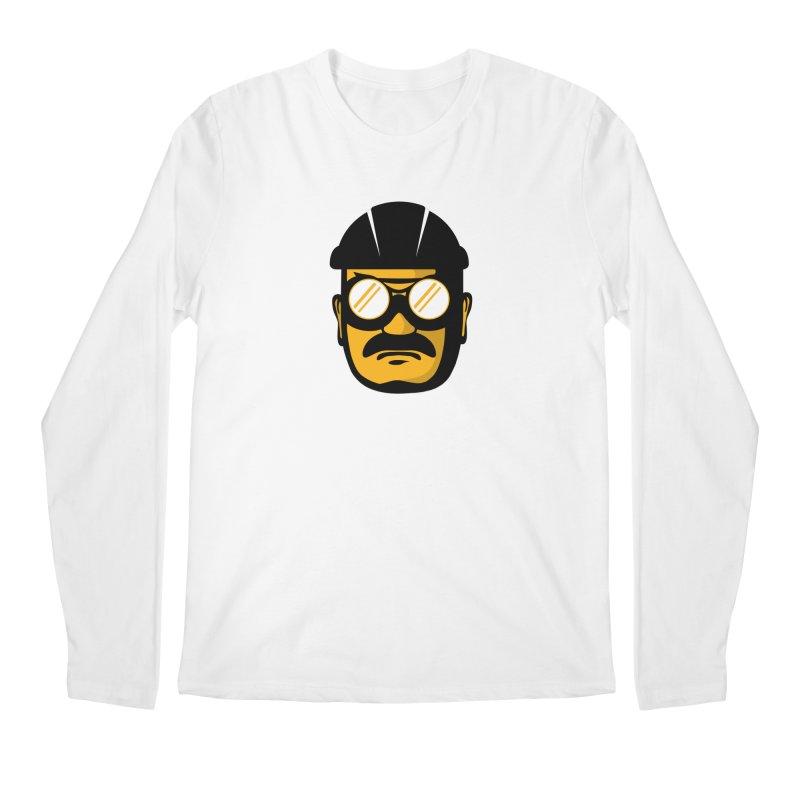 Steelers Wire Icon Men's Regular Longsleeve T-Shirt by Sport'n Goods Artist Shop