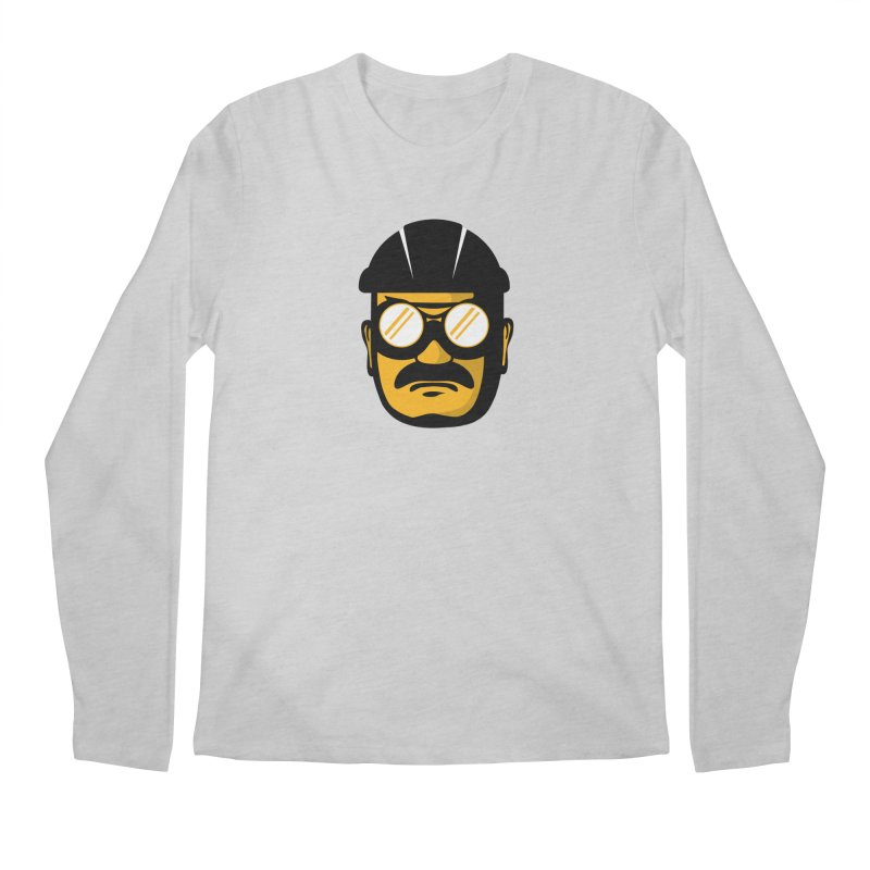 Steelers Wire Icon Men's Regular Longsleeve T-Shirt by Sport'n Goods Artist Shop