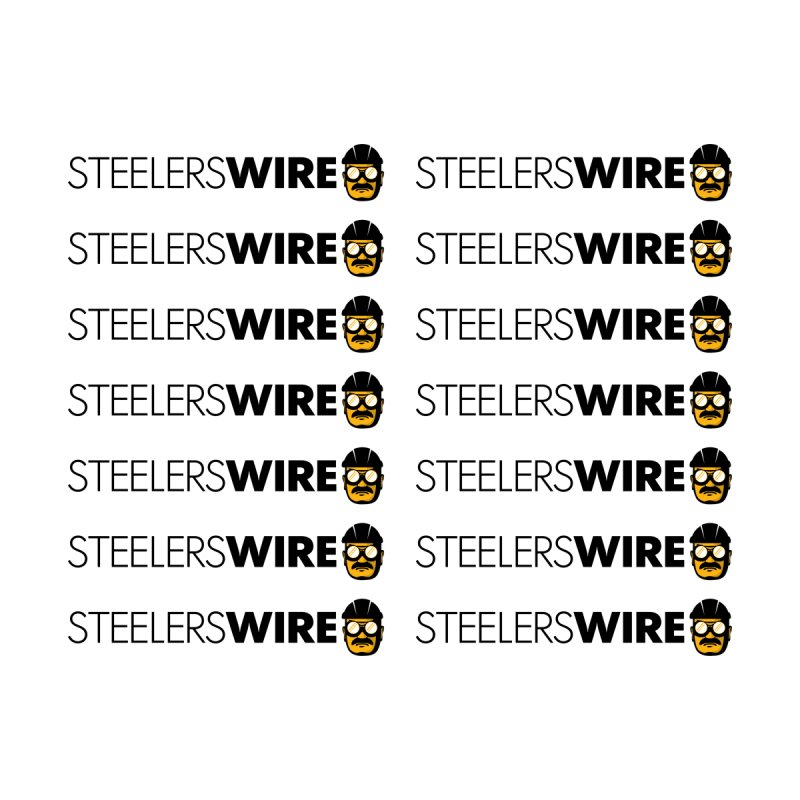 Steelers Wire Blanket by Sport'n Goods Artist Shop