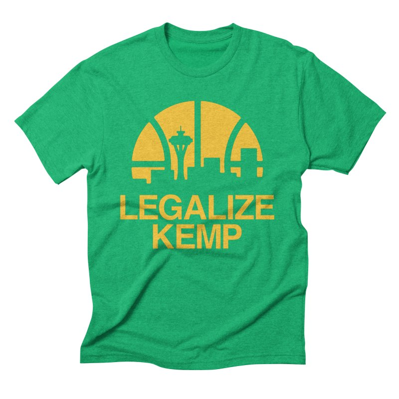 Legalize Kemp Men's T-Shirt by Sport'n Goods Artist Shop