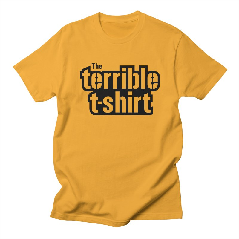 Terrible T-shirt Men's T-Shirt by Sport'n Goods Artist Shop