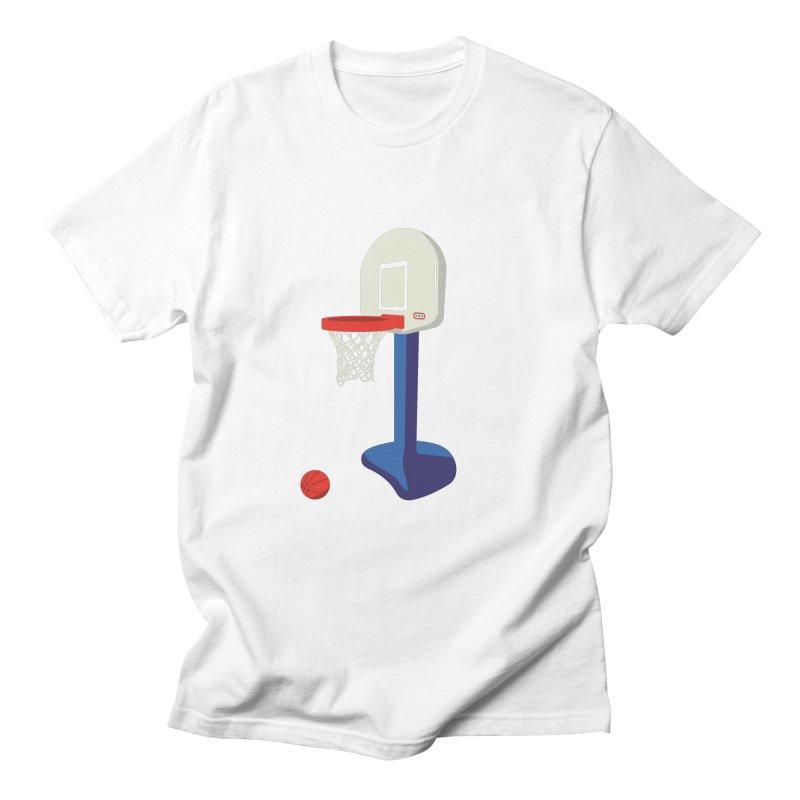 Little Hoop Big Games Men's T-Shirt by Sport'n Goods Artist Shop