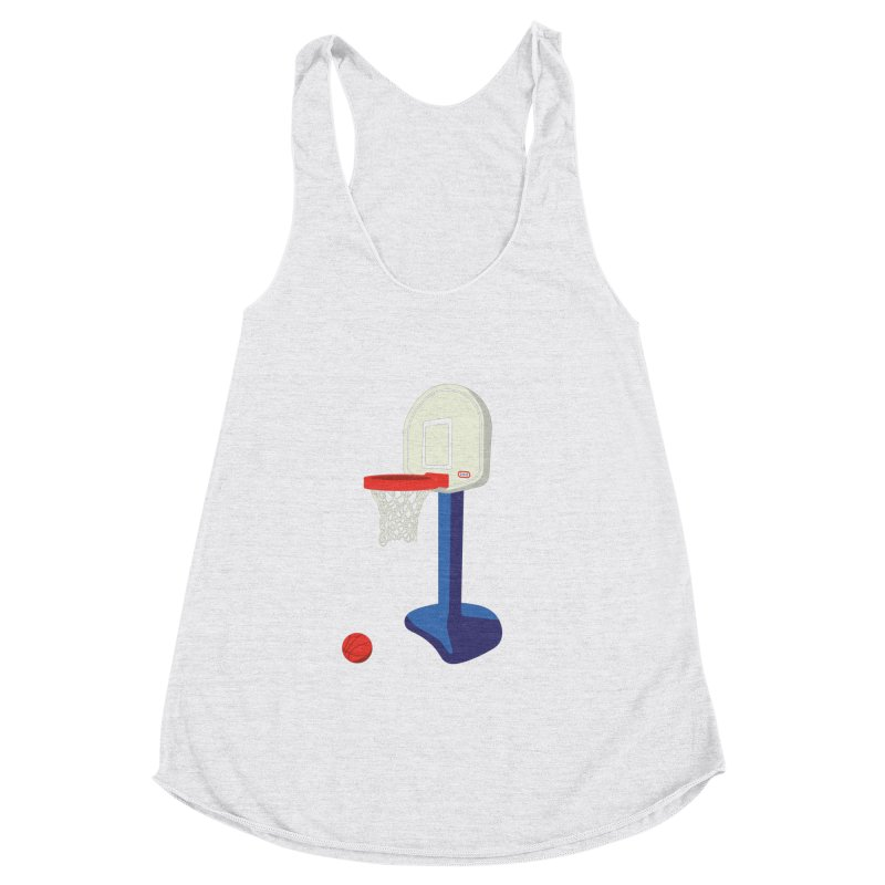 Little Hoop Big Games Women's Tank by Sport'n Goods Artist Shop